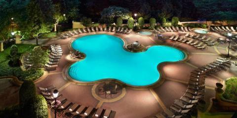 Outdoor pool at Omni Shoreham.