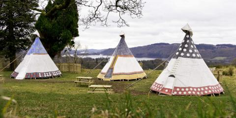 YHA quirky family breaks in Tipis.